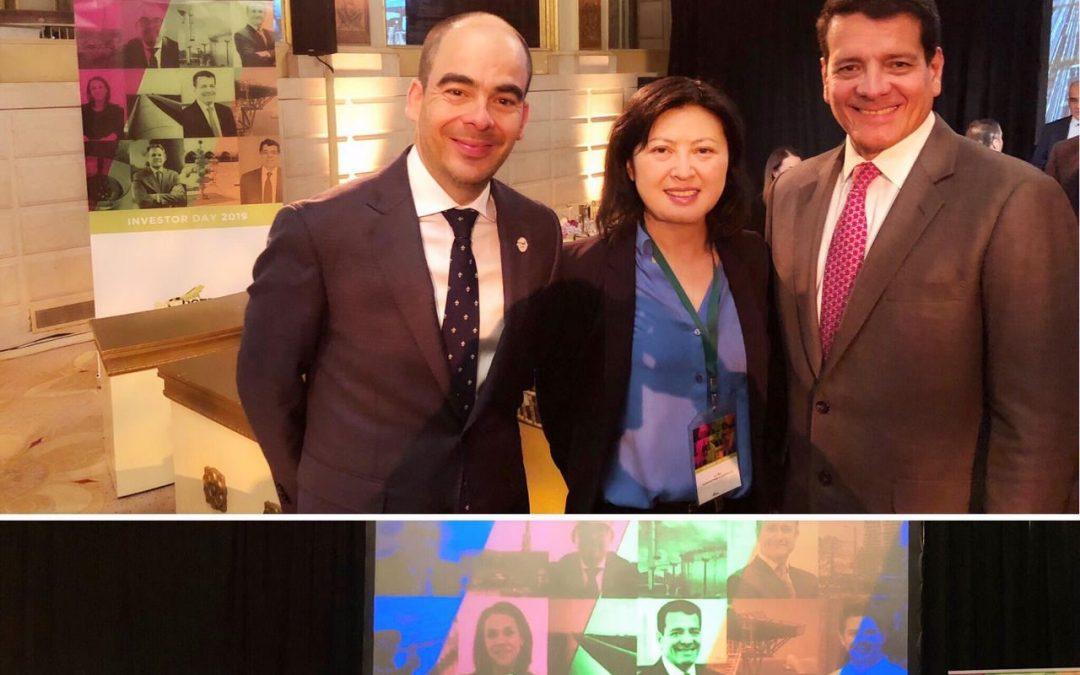 EcoPetrol Investor Day in NYC
